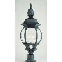 4062   Powder Coated Cast Aluminum Pilaster Light