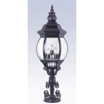 40622  Powder Coated Cast Aluminum Pilaster Light