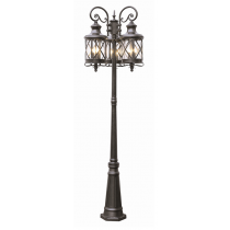 5127 Powder Coated Cast Aluminum Post Light