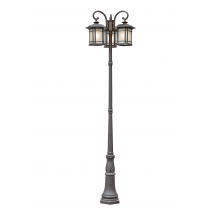 5827 Powder Coated Cast Aluminum Pole Light