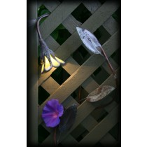 10 Ft. Flowering Vine 5 Leaf Garden Light