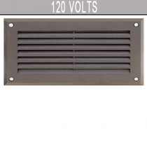 DSL 1000 120 Volt Powder Coated Cast Aluminum Step Light