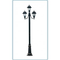 GM 1303 Powder Coated Cast Aluminum Post Light