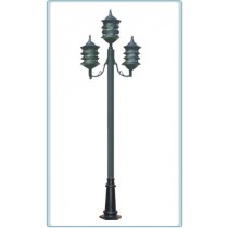 GM 1803 Powder Coated Cast Aluminum Post Light