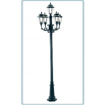 GM 3305 Powder Coated Cast Aluminum Post Light