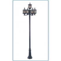 GM 3805 Powder Coated Cast Aluminum Post Light