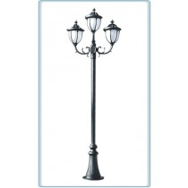 GM 5525 Powder Coated Cast Aluminum Post Light
