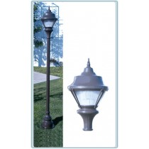 GM 9000 Cast Aluminum Post Light