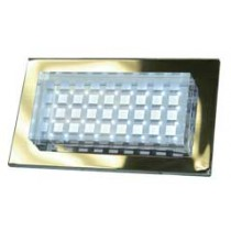 LV 65 LED Low Voltage Powder Coated Cast Aluminum Step Light