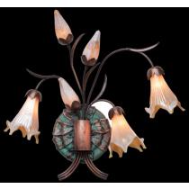 6 Light Sconce Garden Light