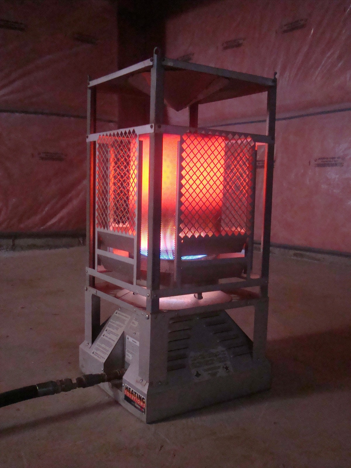 Heat Pro Construction Heater