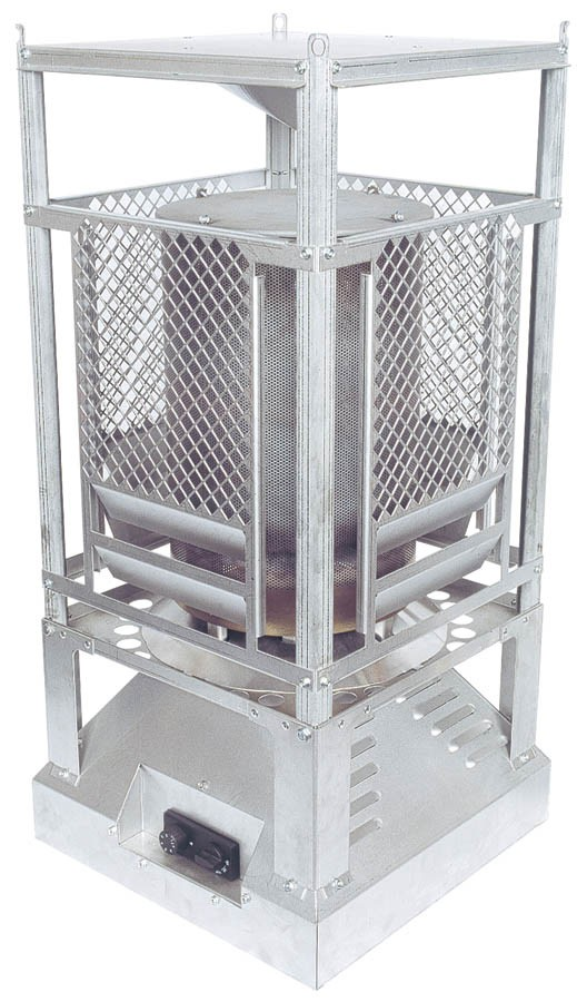Propane Radiant Heater >> Heat Pro construction heater