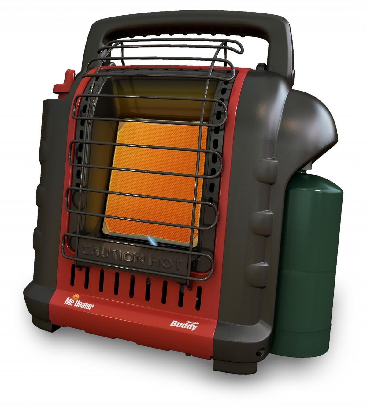 Portable Quot Buddy Quot Propane Heater Model Mh9b
