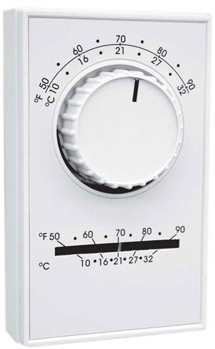120V Thermostat with 35 deg. to 75 deg. Dial Setting