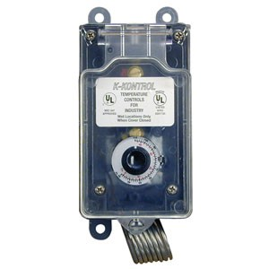 K-Kontrol 120V Watertight Thermostat for Corrosive Environments