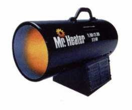 MH125FAV Contractor Forced Air Torpedo Propane Heater