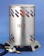 Mr. Heater, MH80C Construction, Convection Propane Fired Heater