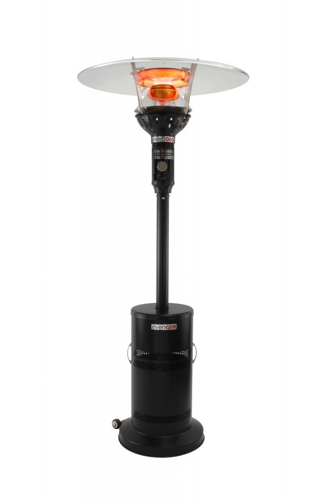 EvenGLO GA201 (Black Powder Coat) Outdoor Patio Heater (FREE SHIPPING!)