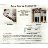SWING DOOR TOP TREATMENT KIT