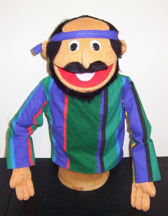 Popular regular Biblical Bald Man Puppet