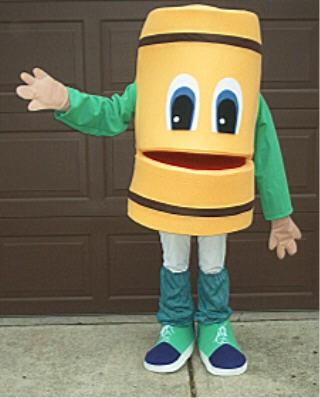 Buddy Barrel Costume