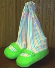 Blacklight Clown Shoes