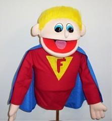 Super Faith Hero Puppet