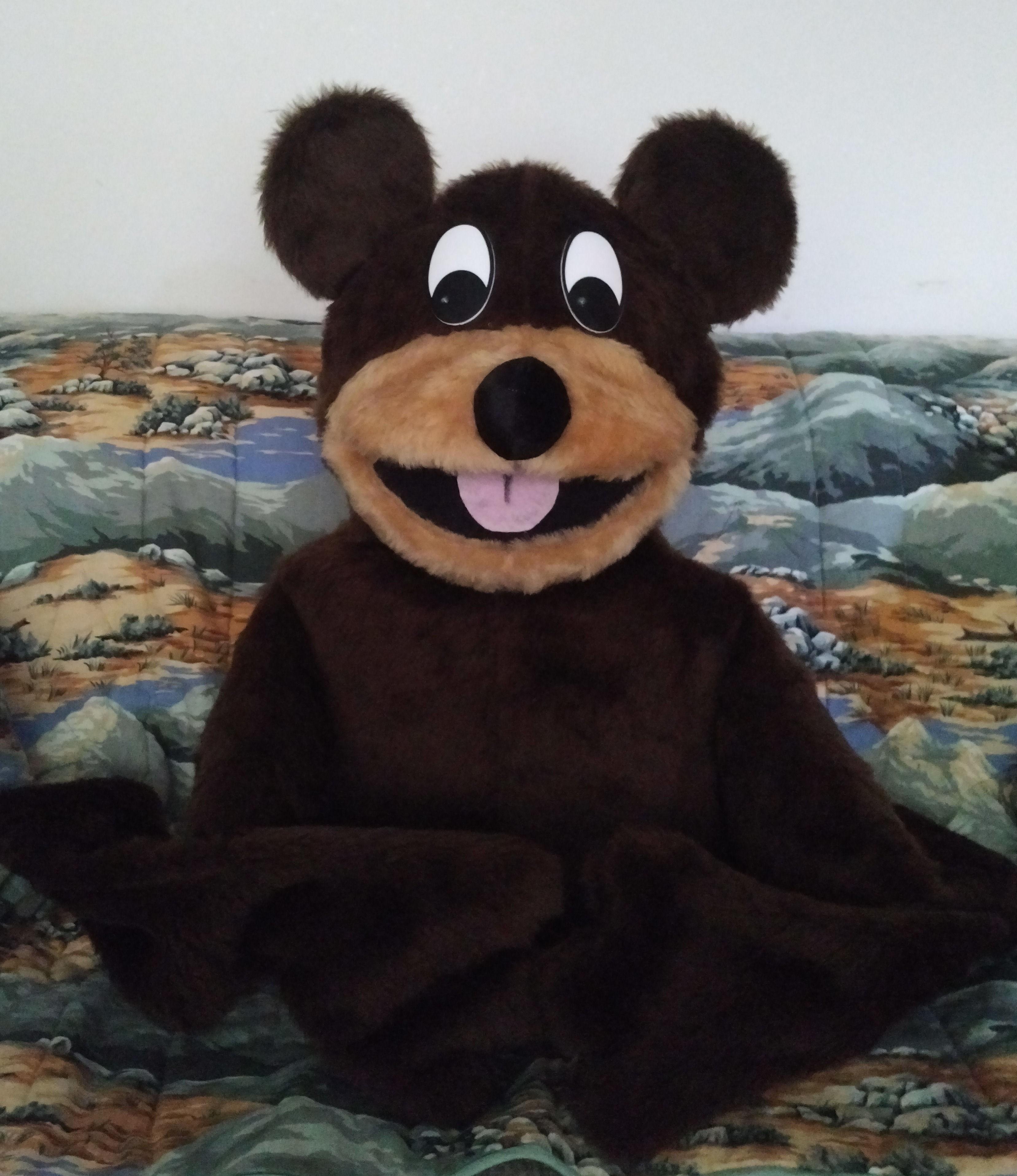 Human Arm Bear Dark Puppet