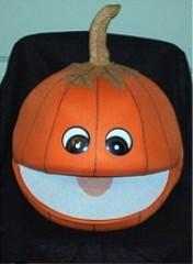 Harvest Pumpkin Puppet
