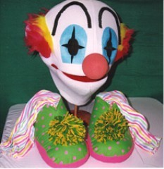 Clown Wear-A-Puppet