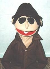 Detective Human Arm Puppet