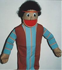 Economy Biblical Children Puppets