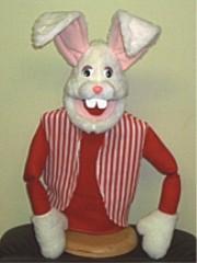 Large Economy Easter Rabbit White
