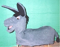 Full Bodied Donkey puppet