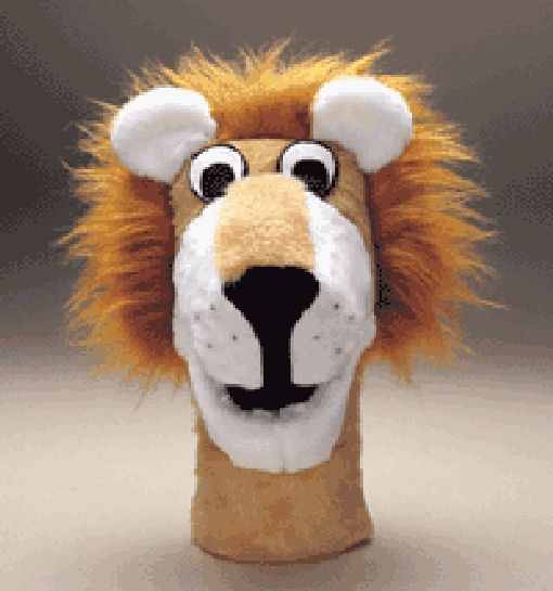 Lion Puppet tan