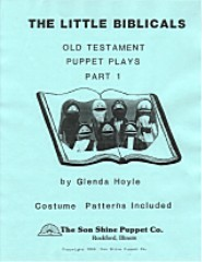The Little Biblicals Old Testament Puppet Plays
