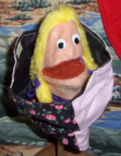 Patchwork Heart Puppet Kit
