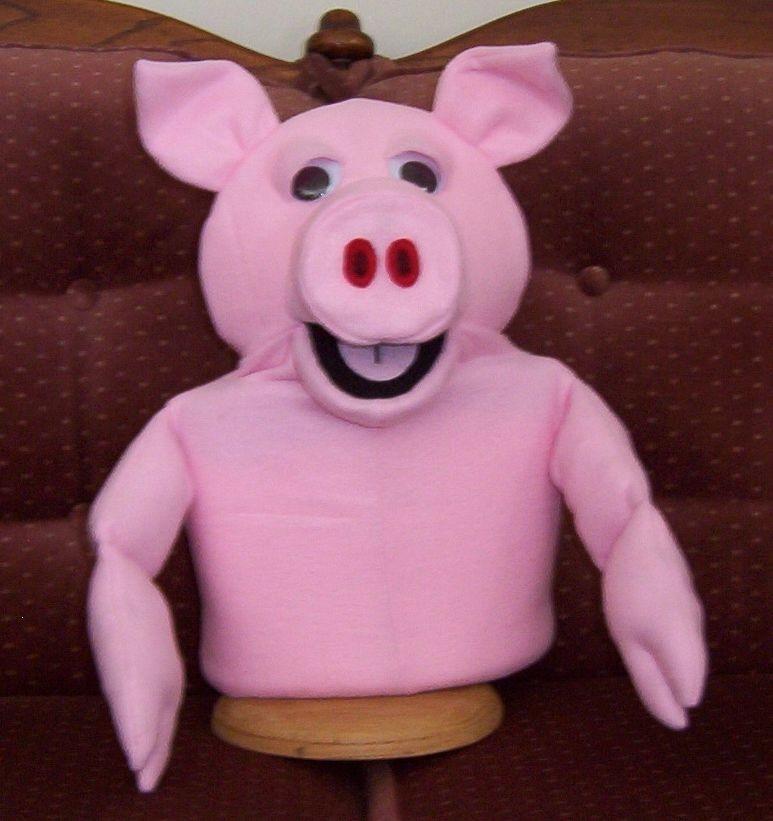 Pig Puppet New