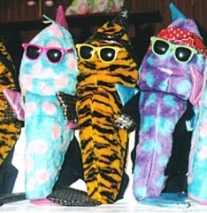 Street Fish Puppets