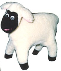 Tiny the Easter Lamb Puppet