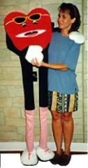 Walking Heart Ventriloquist Puppet