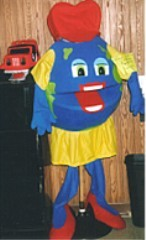 Winnie World Costume