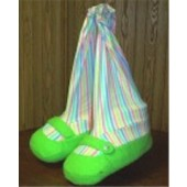 Blacklight Clown Shoes