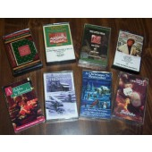 Eight Christmas Holiday Music Cassettes Collectibl