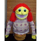 Red Headed PR Girl Puppet