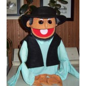 Amish Human Arm Man Puppet