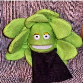 Blacklight Lettuce Pray Puppet