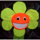 Blacklight Yellow field flower puppet