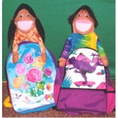 Book Bag People Puppets