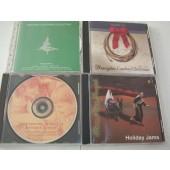 set of 4 christmas cds